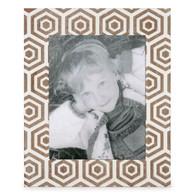 """White & natural 8x10 photo frame (11.25""""x13.75"""")"""