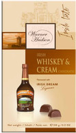 Warner Hun Irish Whdsoisky & Cream chocolates 150 gr., 10/cs