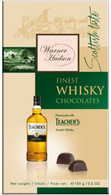 Warner Hudson Whisky chocolates 150 gr., 10/cs