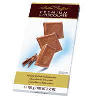 Maitre Truffout Premium Chocolate - Milk 100 gr., 14/cs