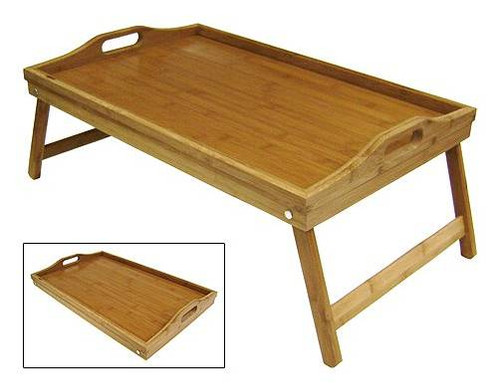 """Bamboo & engineered wood serving tray with folding legs 14.75""""x9""""x7.75"""" Gift basket designers are on the hunt for unique and reusable bases and containers for their gift baskets all the time, Apex Elegance is happy to share with you our new line of gourmet cutting boards at a great wholesale prices that would make them a great base for your gift basket or just add a cutting board in to the basket and your customer would love the gift within the gift!!!"""