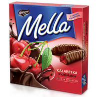 Goplana-Mella cherry jelly in chocolate 190 gr., 24/cs