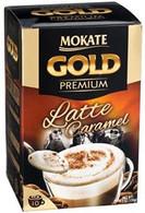 Mokate Premium Gold Latte Caramel  (10 pouches /box) NET WT 150 gr.