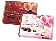 Solidarnocs chocolate secrets 238 gr., 6/cs (2 colour roses)