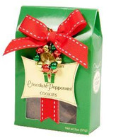 Too Good Gourmet Chocolate Peppermint delicious gourmet cookies in adorable holiday packaging  57 gr., 24/cs