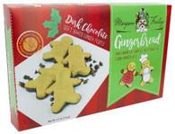 Too Good Gourmet  dark chocolate bottomed gingerbread cookies 156 gr. 12/cs