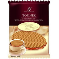 Tago Tofinek caramel wafer 40 gr., 24/cs