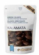 Dumet Kalamata Greek Olives 200 gr., 10/cs