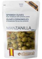 Dumet Manzanilla Spanish Olives 200 gr., 10/cs