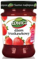 Lowicz Strawberry Jam 280 gr. 8/cs