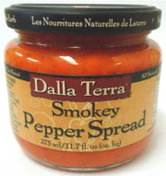 Dalla Terra Smokey Pepper Spread 375 ml.
