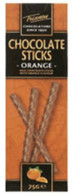 Trianon chocolate sticks - Orange 75 gr., 12/cs