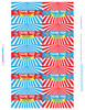 Personalized Big Top Circus Birthday Favor Labels & Gable Boxes New