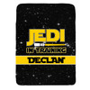 Personalized Jedi In Training Blanket Yellow New