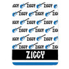 Personalized Name Game Guitar Blanket Blue New