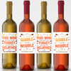Personalized Thanksgiving Wine Labels New