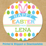 Personalized Easter Favors To Print At Home