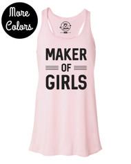 New: Maker of Girls & Maker of Boys Tank Tops