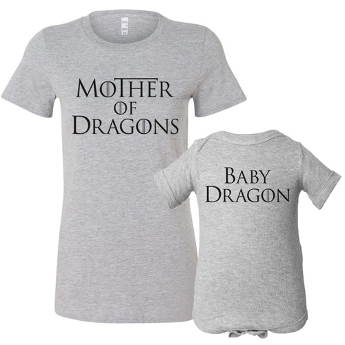Mother Of Dragons Shirt Set
