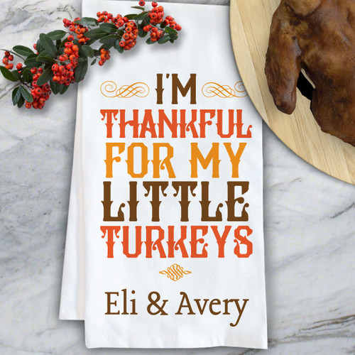 Personalized Thanksgiving Decor