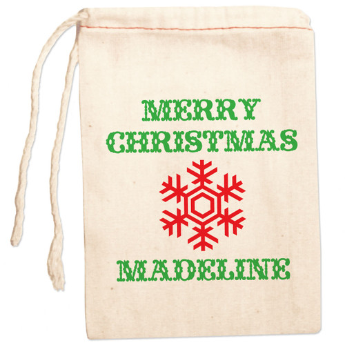 Personalized Gift Bag: Classic Christmas