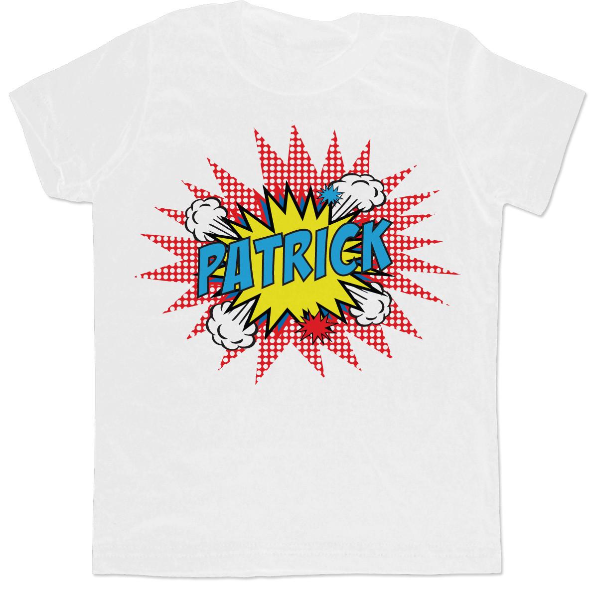 personalized pop art t shirt