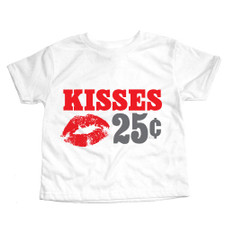 25 Cent Kisses T-Shirt