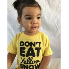 Don't Eat Yellow Snow Kids Tee