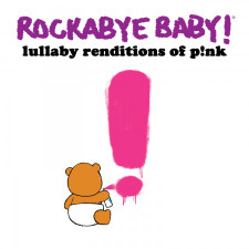 Rockabye Baby Pink Lullaby CD New