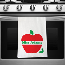 Personalized Apple Of My Eye Kitchen Towel New