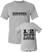 Hipster Dad Shirt Set New