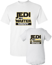 Jedi Dad Shirt Set New