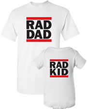 Rad Dad Shirt Set