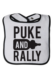 Puke And Rally Bib