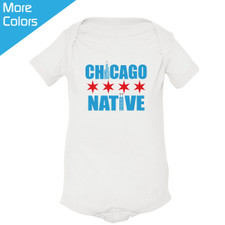 Personalized Chicago Native Baby Shirt