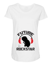 Future Rockstar Maternity Shirt New