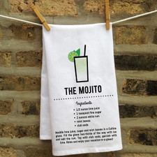 In Fine Spirits Kitchen Towel: Mojito New
