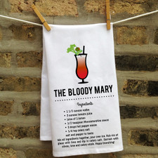 In Fine Spirits Kitchen Towel: Bloody Mary New
