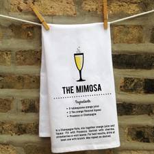 In Fine Spirits Kitchen Towel: Mimosa