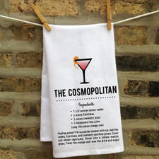 In Fine Spirits Kitchen Towel: Cosmopolitan New