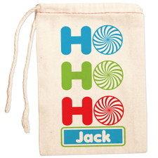 Personalized Gift Bag: Ho Ho Holiday