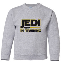 Jedi-In-Training Pullover Sweatshirt