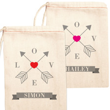 Personalized Gift Bag: Love Straight & True