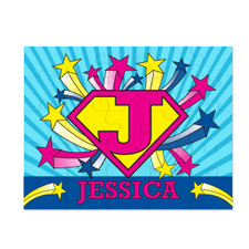 Personalized U-R-A Hero Puzzle Pink New