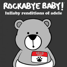Rockabye Baby Adele Lullaby CD