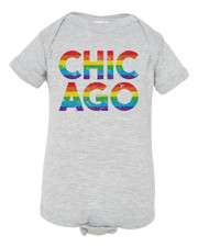 Chicago Pride Baby Shirt