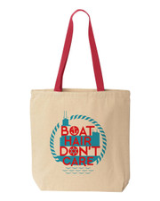 Chicago Boat Hair Tote Bag