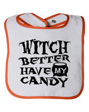 Witch Better Bib
