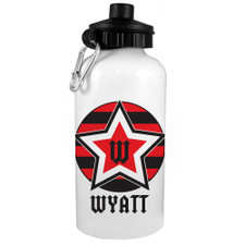 Rockstar Water Bottle Red