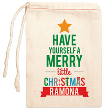 Personalized Gift Bag: Very Merry Christmas
